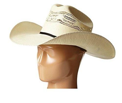 ARIAT Unisex Bangora Cowboy Hat, Natural, 7 5/8 ()