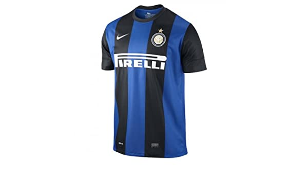 Amazon.com : NIKE 2012-13 Inter Milan Home Shirt (Kids ...