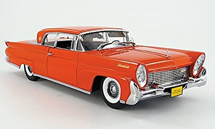 Amazon Com Lincoln Continental Mark Iii Hardtop Red 1958 Model