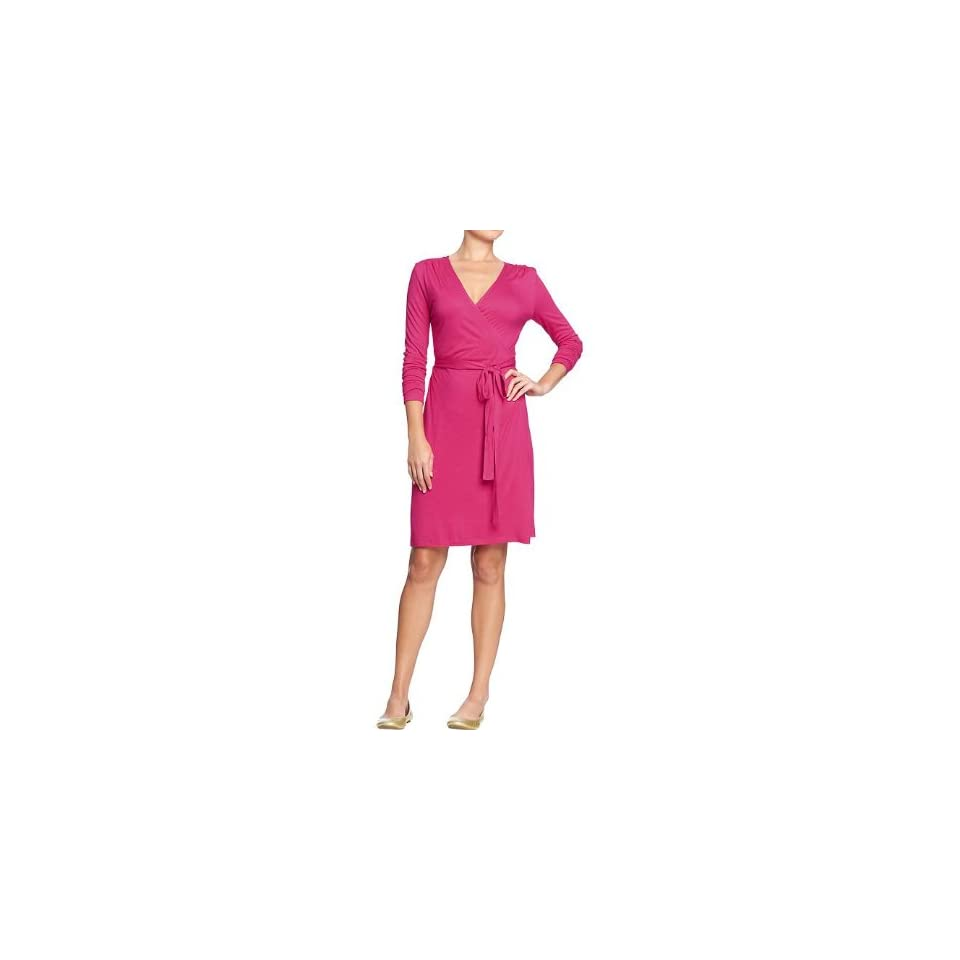 Old Navy Womens Long Sleeved Wrap Dresses