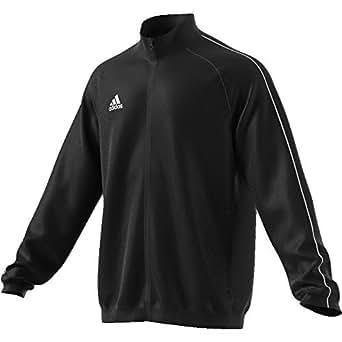 adidas Australia Men's Core 18 Presentation Jacket, Black/White, S