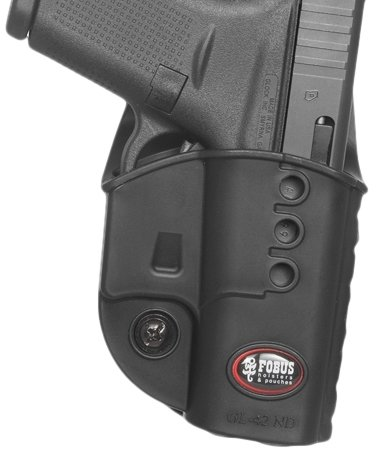 Fobus Model GL42NDBH Glock 42 Right Hand Belt - Belt Fobus Duty