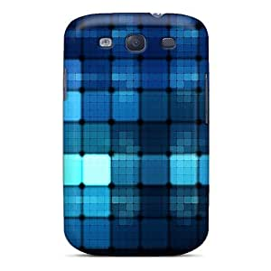 Hot QoqDaIt5876DznNp Case Cover Protector For Galaxy S3- Bluelights