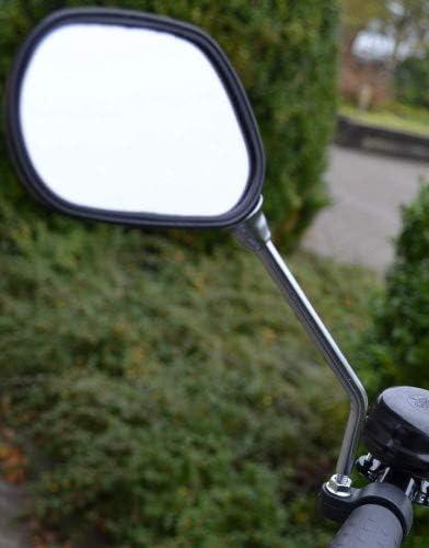 Vélo Bike Mobilité Scooter guidon Miroirs avec Sécurité réflecteurs X 1 Paire