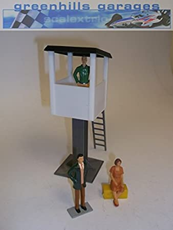 Greenhills Scalextric Slot Car Building White Marshalls Tower 1:32 Scale MACC289