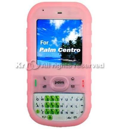 Pink Gel Silicone Skin Case For Palm Centro 685 / 690 (Palm Centro 690)