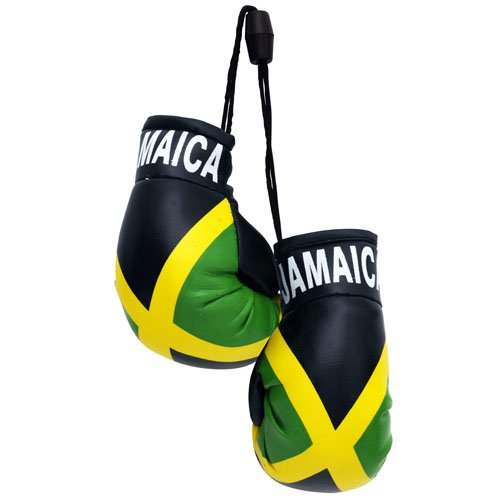 flagsandsouvenirs Boxing Gloves JAMAICA