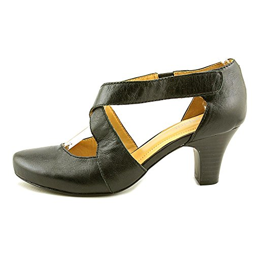 28608d16a21c Easy Spirit Rovana Women Pointed Toe Synthetic Black Mary Janes  well-wreapped