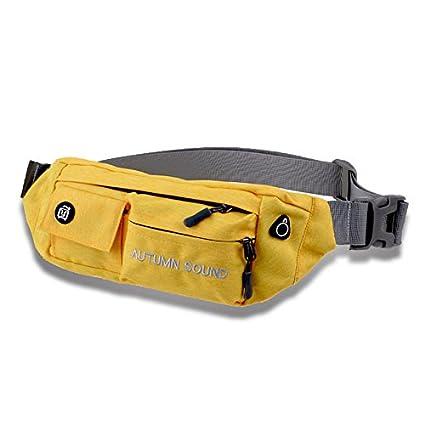 2040a329cf Slim Fanny Pack Waist Bag Travel Pocket Sling Chest Shoulder Bag Phone  Holder Running Belt With