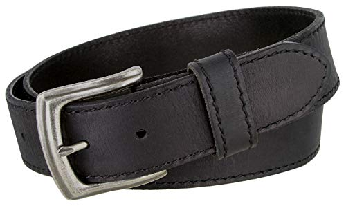 Made in Italy Full Grain Leather Casual Jeans Belt