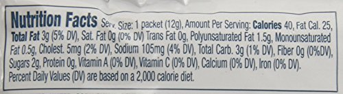 Heinz Light Mayonnaise Single Serve Packet (0.4 oz Packets, Pack of 500)