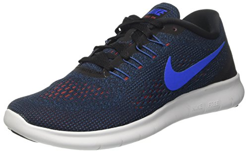 Nike Free RN Black/Soar/Dark Cayenne/Team Royal Men's Running Shoes