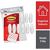 Command Designer Hooks, Indoor Use, White (GP081-9NA)