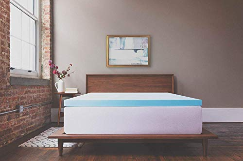 ViscoSoft 3 Inch Response Gel Memory Foam King Mattress Topper – Amazing Cloud-Like Comfort and Robust Support for Side, Back, Stomach Sleepers – Gel Infused for Temperature Regulation – Made in USA