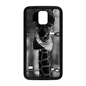 Personalized Fantastic Skin Durable Rubber Material Samsung Galaxy s5 Case - Hipster Giraffe