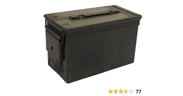 MFH 627905 - Caja de munición usada de los Estados Unidos (29,5 x 15,5 x 18 cm): Amazon.es: Deportes y aire libre