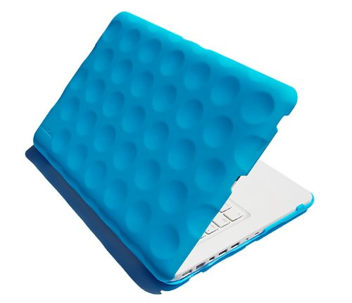Hard Candy Cases Bubble Shell Stealth Case for Apple MacBook 13-inch, Blue, (STH-MAC13-BLU) (Macbook 13 Inch Aluminum Late 2008 Case)
