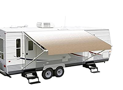 RV Vinyl Awning Replacement Fabric - Dune Fade 16'
