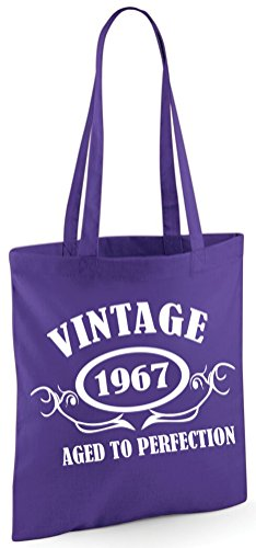 1967 Sinclair Purple Shoulder PERFECTION AGED Bag Edward Bag VINTAGE TO Tote ZdqZA