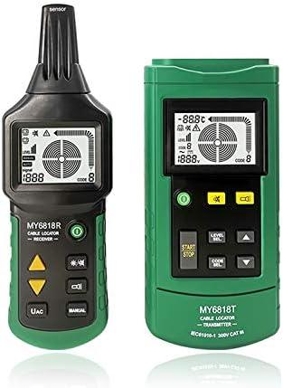 Ricevitore Linea di misurazione 1,5 m KKmoon MY6818 AC//DC 12-400V Tester per Cavi Professionale Tracker Finder Filo Cortocircuito Rilevatore di Guasti con Trasmettitore