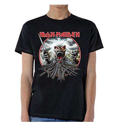 Global Iron Maiden Men's California Highway T-Shirt Black-XXL
