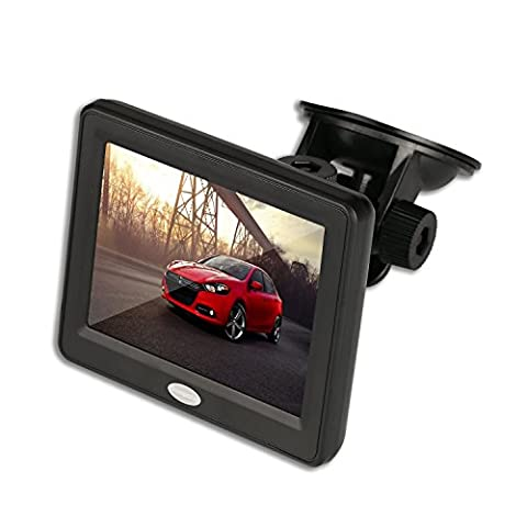 3.5'' Inch TFT LCD Car Color Rear View Monitor Screen for Parking Rear View Backup Camera With 2 Optional - Delicate Audio Equipment