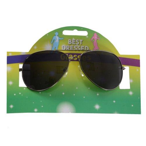New Michael Jackson Aviator Style Fancy Dress Glasses by - Jackson Aviators Michael