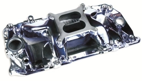 Professional Products 53025 Crosswind Polished Manifold for Big Block Chevy