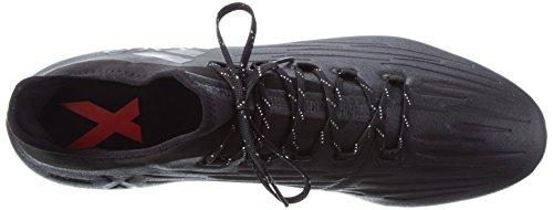 adidas X 16.2 Fg, Botas de Fútbol para Hombre Negro (Core Black/core Black/dark Grey)