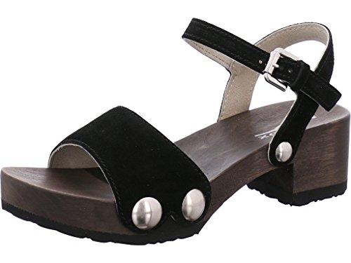 Softclox Vrouwen Sandals Penny 3378 408887 Olijfzwart (hazelnoot)