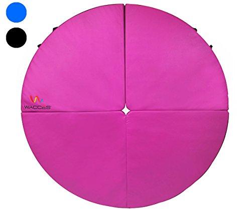 Wacces Pole Dance Foldable Crash Mat, Pink