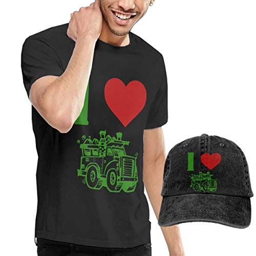 Novelty Men's I Heart Love Trash Garbage Trucks