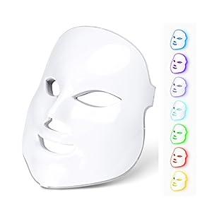 7 Colors Light Photon LED Mask Electric Facial Skin Rejuvenation Therapy Face Care