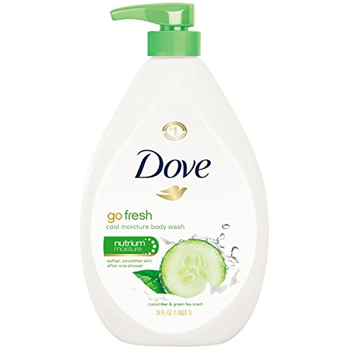 Dove go fresh Body Wash, Cucumber and Green Tea Pump 34 Ounc