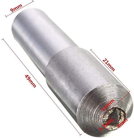 Maslin 11mm Diameter Grinding Disc Wheel Grinding Diamond Dresser Dressing Pen Tool Steel Diamond Pen