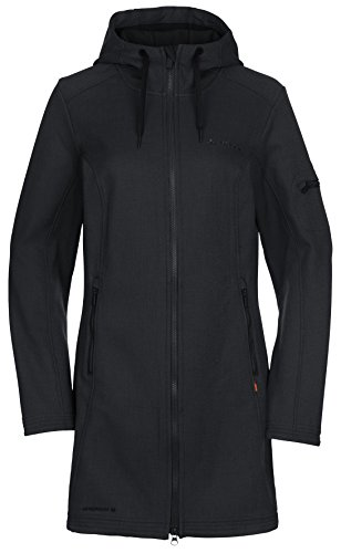 VAUDE Belize Black Donna Cappotto Nero rqwErX