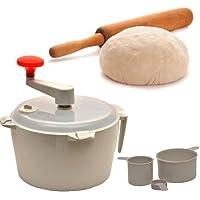 PIXABITS®️ Plastic Automatic Dough Atta Roti Maker for Home (Multicolor)