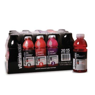 Vitamin Water 15pk 20 Oz