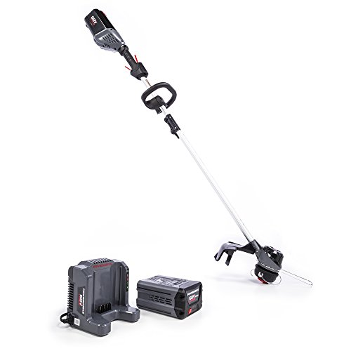 POWERWORKS 60V 16-inch Top Mount String Trimmer, 2.5Ah Battery and Charger Included ST60L2510PW