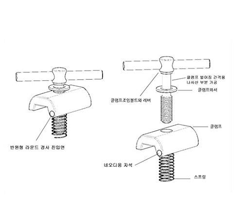 Nov magnet antique easy shell clamps for Brompton Folding Bike - Dino Kiddo