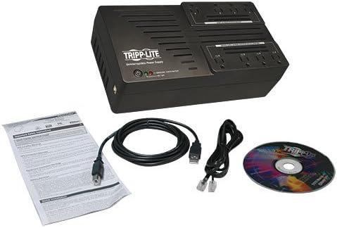 Ultra-Compact USB AVR750U 450W AVR Line Interactive Tripp Lite 750VA UPS Battery Backup