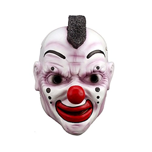 (YUFENG Slipknot Joey Mask Halloween Clown Mask,Quality Resin Collectible Animated Mask for)