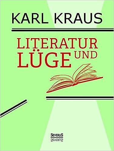 Literatur und Lüge (German Edition)