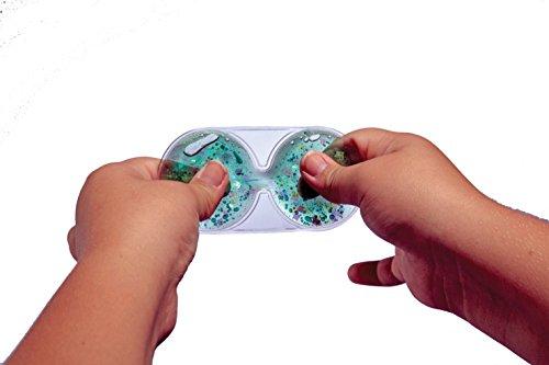Abilitations Fidget Finger Squash It, Multicolor, Set of 6 by Abilitations