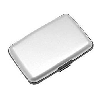 amazon com cute aluminum card cases fuzzygreen fashion silver