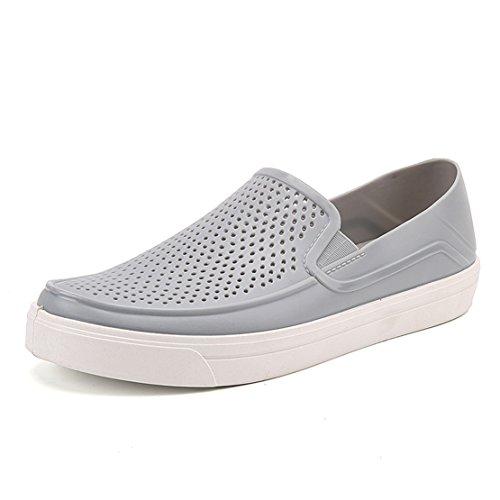 Go Tour Mens Slip-on Flat Grey