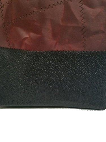 Para Colores Piel Varios Bolso Hombro Mujer Elbaavoile Negro De Multicolor Al T1X8BWRq