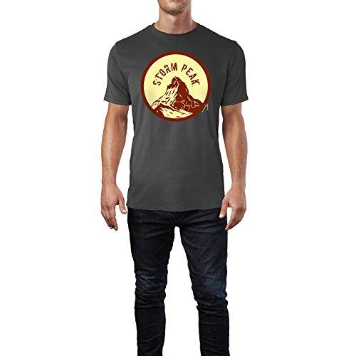 SINUS ART® Vintage Label – Expedition Herren T-Shirts in Smoke Fun Shirt mit tollen Aufdruck