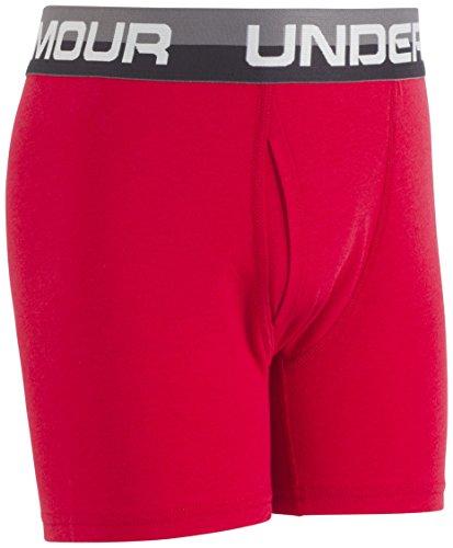 6bfc25a3 Under Armour Boys' Big 2 Pack Solid Cotton Boxer Briefs - Women's Lingerie  | Underwear Shop
