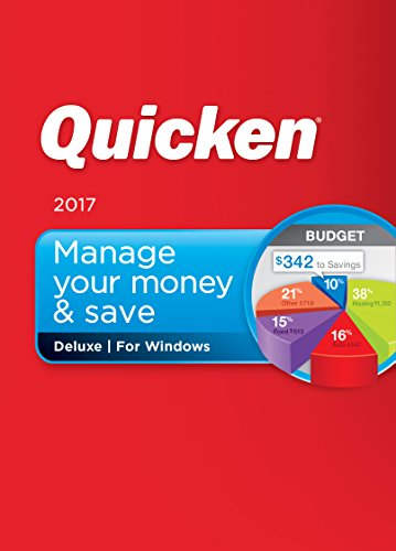 Quicken Deluxe 2017 Personal Finance & Budgeting Software